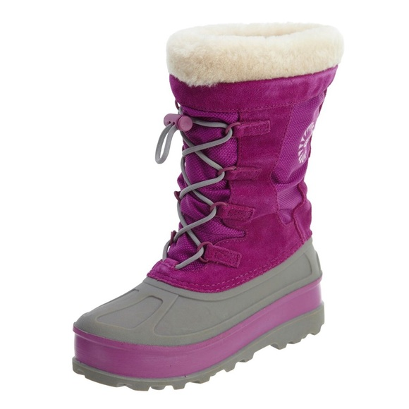 Bobbey Pink Winter Snow Boots Girls